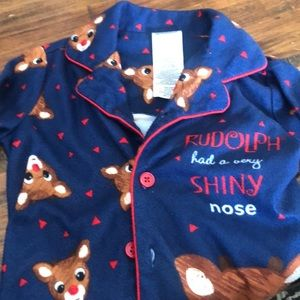 Other - Rudolph the red nosed reindeer pjs